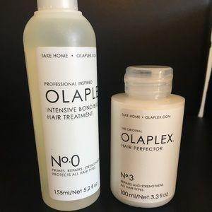 Olaplex No 0 & 3 Primer and Perfector. NWT